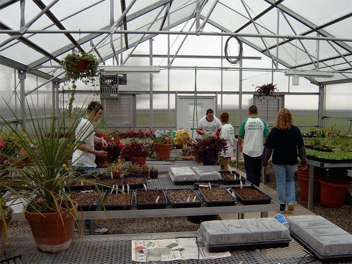 گلخانه آموزشی, Teaching Greenhouse