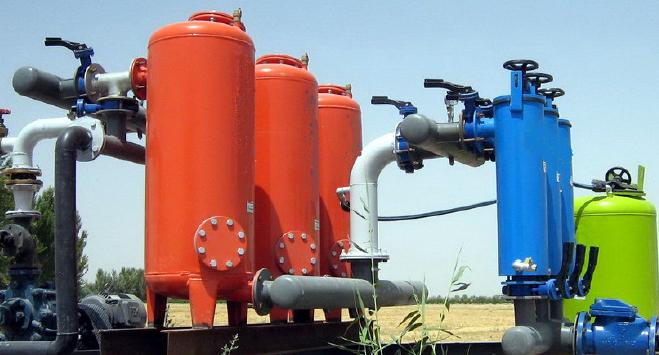 ایستگاه کنترل مرکزی سیستم آبیاری قطره ای